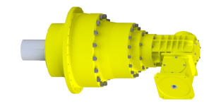 Bevel-planetary-gear-box---Flange-mounted