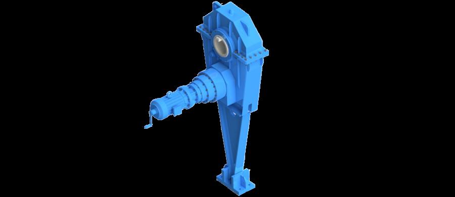 Gear-motor-m3-type,horizontal-shaft-mounting