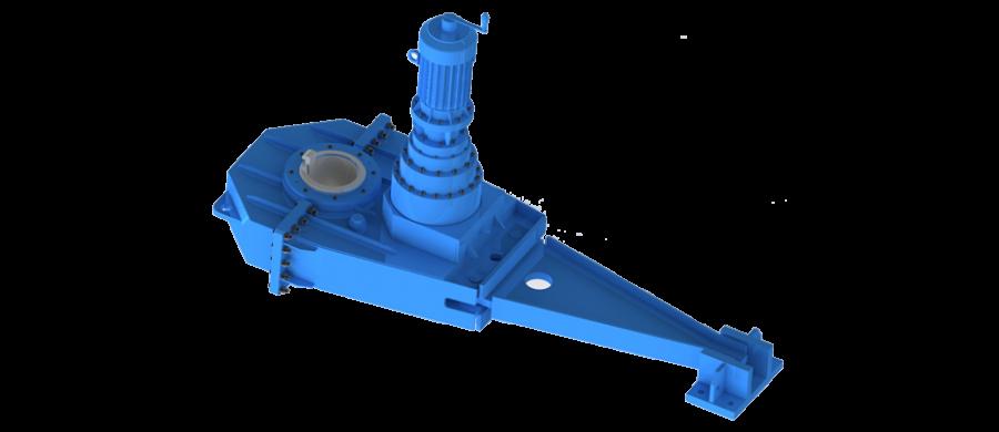 Gear-motor-m3-type,vertical-shaft-mounting